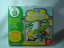 Leap Frog Personalized Learning Kit New Baby! My New Friend! Sealed
