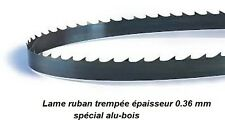 Lame de scie à ruban 1425 mm largeur 6 coupe Alu (Rexon, Delta, Fox F28-180)