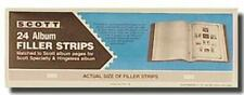 Pkg. 24 SCOTT ACC105 Filler Strips for 2 Square Post Albums