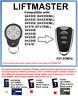 LIFTMASTER 94330E, 94333E, 94334E, 94335E, Compatible Remote Control 433.92MHz.