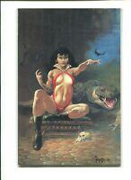 VAMPIRELLA 25TH ANNIVERSARY SPECIAL VF/NM VIRGIN FRANK FRAZETTA COVER HARRIS