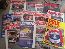 Motor Racing Magazines & Poster – Various Autosport
