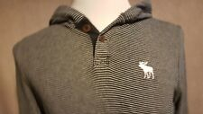 ABERCOMBIE & FITCH Man's Hoodie Size: Large VERY GOOD Condition
