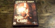 JOHNNY DEPP The Ninth Gate UK REG 2 + 4 DVD 2001 Roman Polanski Occult Horror