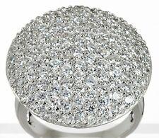 Ö.8461 Designer Ring 925er Silber rhodiniert Zirkonia weiß RW18