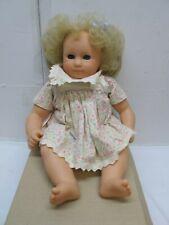 "Gotz 14"" Blue Eyed Soft Bodied Baby Doll"