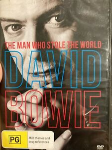 David Bowie - The Man Who Stole The World NEW/sealed region 4 DVD (documentary)