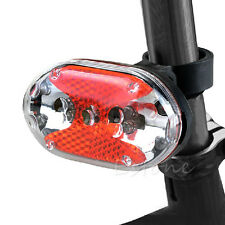 Bike Bicycle 7 Modes 9-LED Red Tail Safety Rear Flashing Light Lamp + Mount