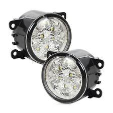 2X LED DRL Nebelscheinwerfer rund Nebel Licht für Acura Ford Focus Honda Nissan