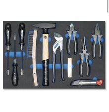 Heni Werkzeugsortiment  Werkzeug-modul Hammer Zangen Schaumstoff Einlage