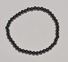 Bracelet Hématite bille 4 mm - Natural hematite bead bracelet