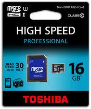 Cartes mémoire Toshiba pour téléphone mobile et assistant personnel (PDA), 16 Go