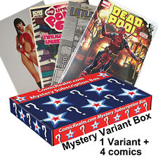 Mystery Variant Comic + 4 Comics Subscription Box from ComicRealm.com + Coupon!