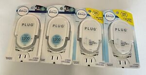 4 Febreze Plug Alternating Scented Oil Warmer With Low-Level Indicator Light New