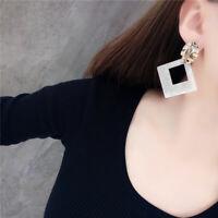 Boho Geometric Women Dangle Drop Acrylic Ear Stud Earrings Fashion Jewelry