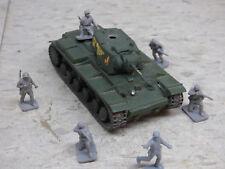 1/72 Airfix Compatible Minitank Painted WWII Russian KV-1 Heavy Tank Lot #1521K