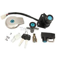 Ignition Switch Fuel Gas Cap Tank Lock Key Cap Set For Yamaha Virago XV125 XV250