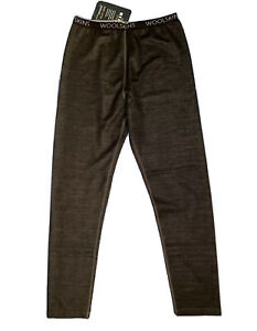 Terramar Merino Woolskins Wool Pants Girls Youth L 14-16 Base Layer Warm New
