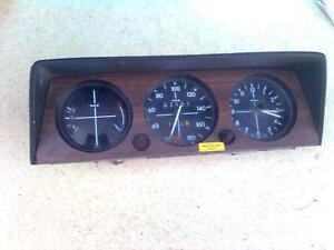BMW E10 1602 1802 Tacho Kombiinstrument neue Ausführung 180 km/h Uhr