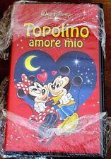 VHS film TOPOLINO AMORE MIO animazione 2002 WALT DISNEY VS 4918 (F123) no dvd