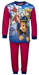 Paw Patrol Boys Character Red Pyjama Set  - Ages 3/4/5 Years