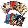 JP_ Men Silk Handkerchief Pocket Square Wedding Paisley Floral Hanky Vintage B