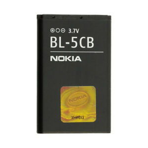 Nokia BL-5CB OEM Battery 6030 3600 3555 3120 3100 2730 2710 2700 2610 2600 New