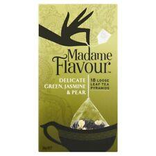 Madame Flavour Green Jasmine & Pear Tea Bags18 pack 36g