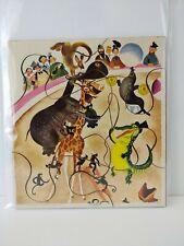 Vintage Playskool Funny Animal Circus Puzzle