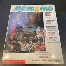 Microzine 26 sw Apple II 2 vintage computer Wizard Darkling Wood Adventure game