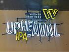 Widmer Beer Sign, Upheaval IPA, Neon Sign