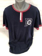 vintage Men's Polo Ralph Lauren Long Sleeve Navy T-Shirt Standard Fit Size xl
