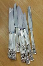 10 ONEIDA COMMUNITY VINTAGE 1936 CORONATION DINNER OR TABLE KNIVES  Nice!