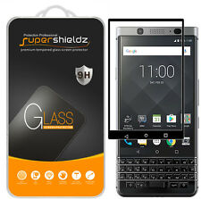 2X Supershieldz Blackberry Keyone Full Cover Tempered Glass Screen Protector