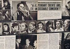 Coupure de presse Clipping 1958 Pierre Blanchard  (2 pages)