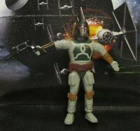 1994  JusToys Star Wars Bend-Ems BOBA FETT Loose & Complete Figure