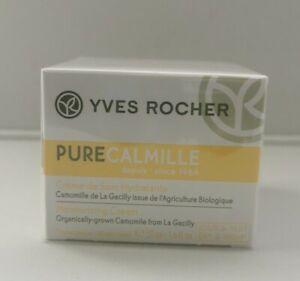 Yves Rocher PURE CALMILLE Moisturising Skin Cream Day/Night 50ml Sealed Exp12/21