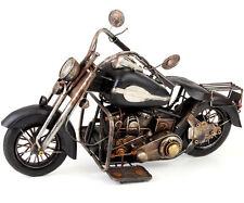 US-Style Moto Oldtimer environ 53x31x21cm Highway Cruiser modèle en tôle moteur Bike