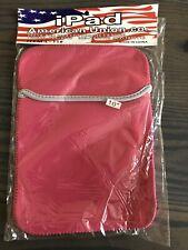 Pink Neoprene Soft Tablet Sleeve Case Bag for iPad 4th Retina/iPad 3/iPad 2