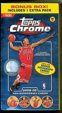 2008-09 Topps Chrome Basketball - Blaster Box, 8-Packs! Westbrook rookies, auto?