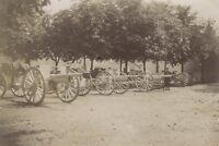 Snapshot Pistole Militaire Fotografia Originale Vintage Citrato Ca 1900 ND56