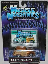 Nip '50 Ford Woody - Muscle Machines - 02-08 - 1:64 Scale