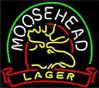 "New Moose Head Lager Neon Sign Beer Bar Light Pub Gift 17""x14"""
