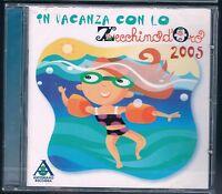 IN VACANZA CON LO ZECCHINO D'ORO PICCOLO CORO DELL'ANTONIANO CD F.C SIGILLATO!!!