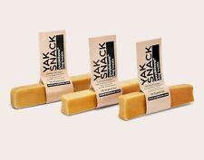 Yak & Cow Milk Dog Chew Treat Medium x 3 BUNDLE - Tough, Long Lasting, Natural