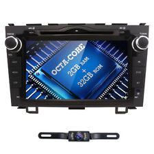 Android 7.1 Car in Dash DVD Radio GPS DAB+DVR Octa Core fit Honda CRV 2007-2011