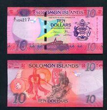 SOLOMON ISLANDS  - 2017 $10 UNC Banknote