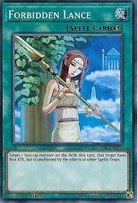 YU-GI-OH CARD: FORBIDDEN LANCE - YS17-EN026 - 1st EDITION