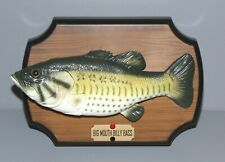 Vintage Gemmy 1998 Big Mouth Billy Bass Singing Fish, Motion Activated Nice!