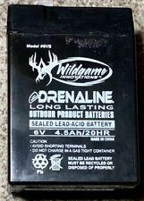 Wildgame Innovations eDRENALINE 6 Volt 4.5A Gel Cell Rechargable Battery WGI-6VB